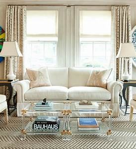 lucite coffee table contemporary living room leta With gold coffee tables living room