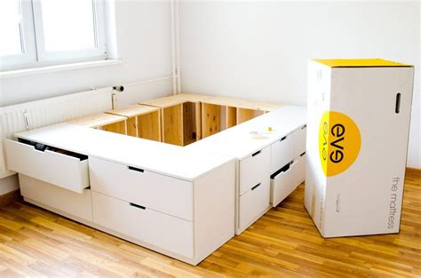 Bett Selber Bauen Ikea by Hohes Bett Hohes Bett With Hohes Bett Beautiful Hohes