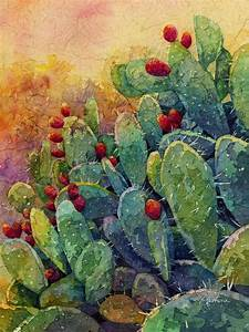 Desert Gems 2 Painting by Hailey E Herrera