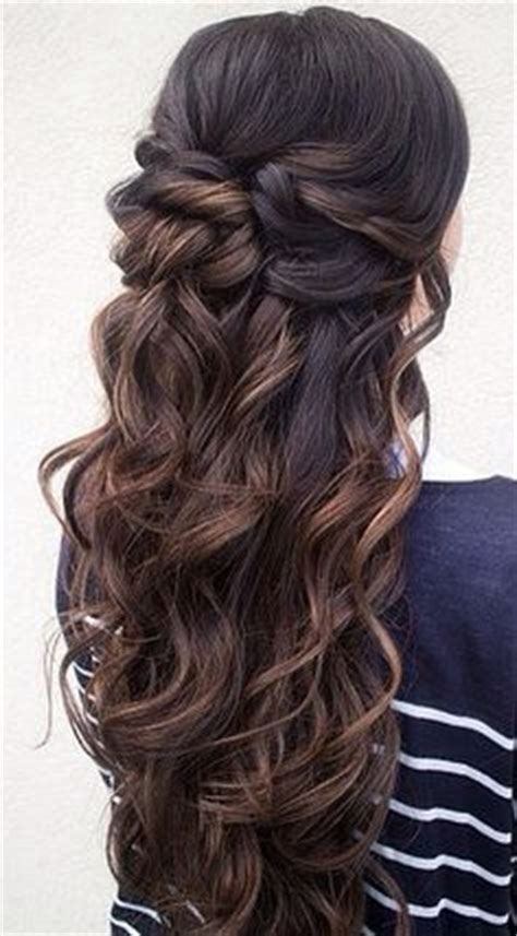 prom hairstyles  long hair pageant planet