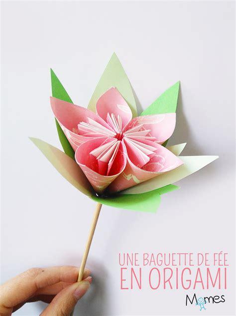 Une Fleur En Origami Momesnet