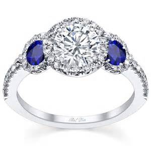 engagement ring with sapphire accents debebians jewelry create custom engagement rings faster with debebians
