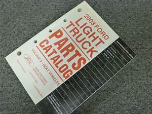 2003 Ford Escape Suv Parts Catalog Manual Book Xls Xlt