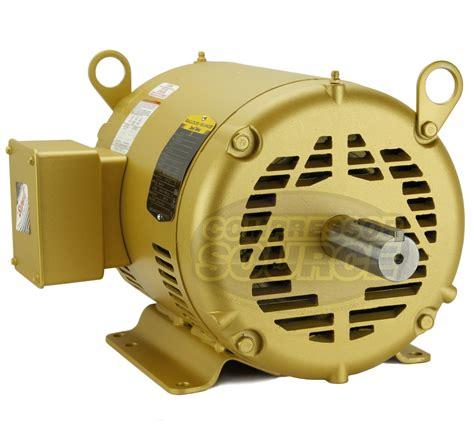 7 5hp 3 phase baldor electric compressor motor 213t frame 1770 rpm 230 volt ebay