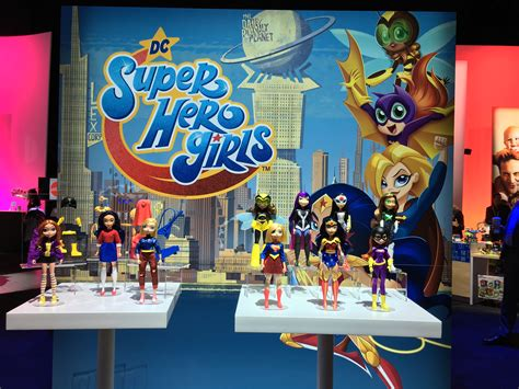 Toy Fair '19 Mattel Gives Dc Super Hero Girls Franchise A