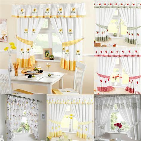 ready  kitchen window curtains pelmets seat pads