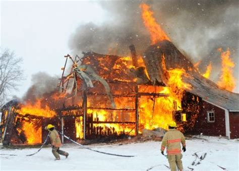 Barn Fires by Barn Fires Are A Reality In Winter Season Welcome To