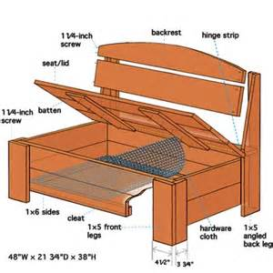 Below Deck Project Free Tv by Overview How To Build A Bench With Hidden Storage This