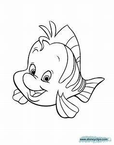 The Little Mermaid Coloring Pages | Disney Coloring Book