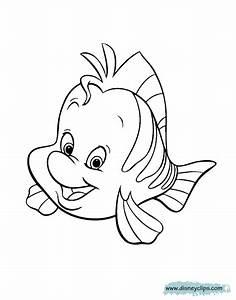 The Little Mermaid Coloring Pages Disneyu002639s World Of Wonders