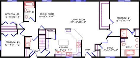 simple  story open floor plan rectangular google search floor plans ranch ranch house