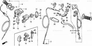 Honda Motorcycle 1994 Oem Parts Diagram For Switch