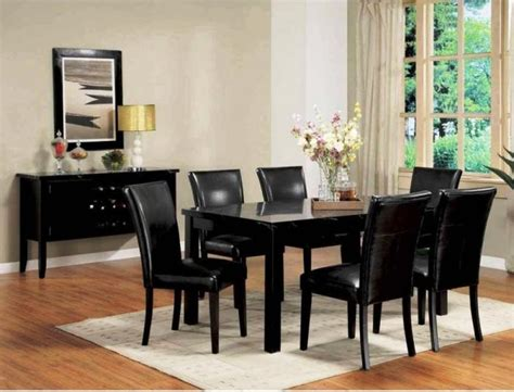 black dining room sets 10 modern dining room sets with awesome upholstery rilane