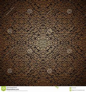 Gold Vintage Background Patterns