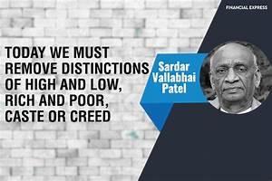 Rashtriya Ekta Diwas 2017: 20 powerful quotes by Sardar ...