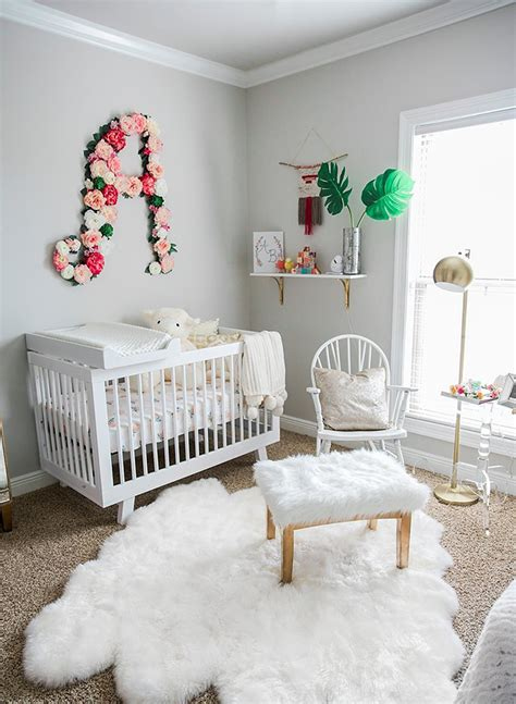 Plush Pink And White Nursery  Inspired By This