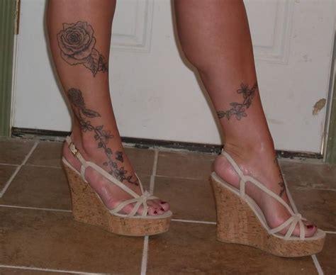 women leg tattoos ideas  pinterest women