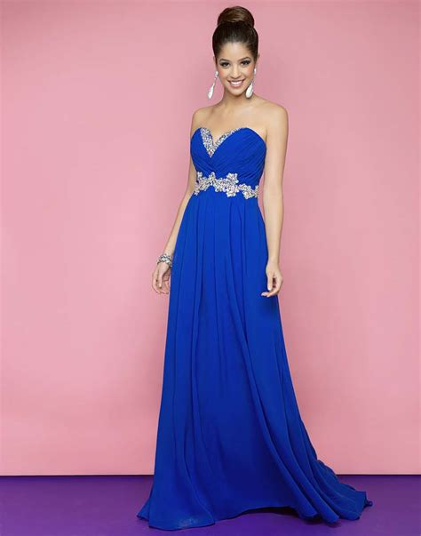 Charming Royal Blue Long Flare Evening Gowns Ideas u2013 Designers Outfits Collection