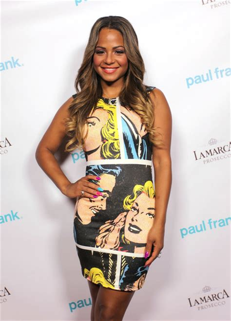 Christina Milian Dives Into The Ombre Hair Color Trend