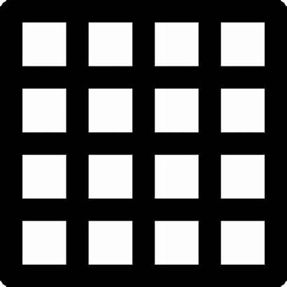 Grid Icon Data Illustrator Square Adobe Icons