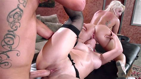 Hot Daughter Enjoys Hardcore Threesome Incest Sex With Her