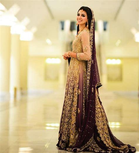 latest  pakistani bridal lehenga dresses collection