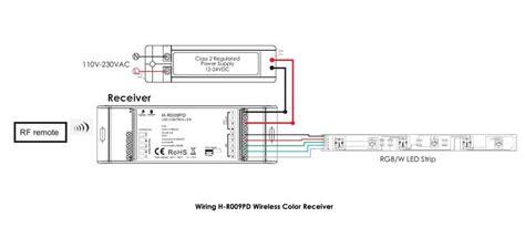 Wireless Rgb Led Receiver Slave Hueda Rpd