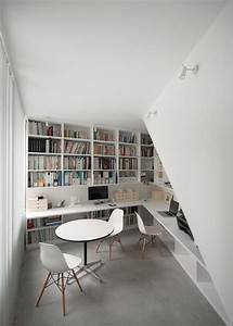 5 unique small modern home office design ideas interior for Unusual modern home office