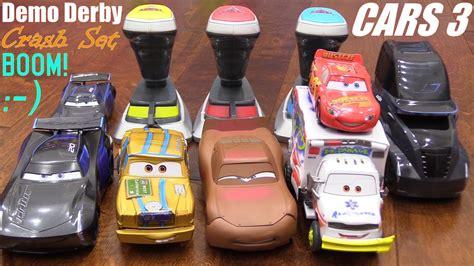Disney Cars 3 Playsets! Lightning Mcqueen Versus Jackson