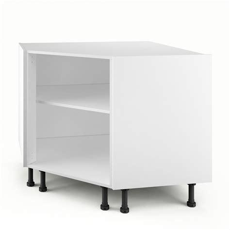 meuble bas cuisine leroy merlin caisson de cuisine bas d 39 angle pc100 delinia blanc l 100 x