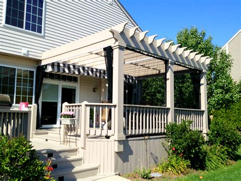 house plans with screened porches pergola with canopy and mosquito curtains outdoor living