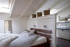 Holz Im Nassbereich : wohnideen schlafzimmer den platz hinterm bett verwerten freshouse ~ Markanthonyermac.com Haus und Dekorationen