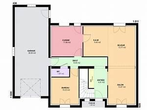 maison 6 pieces mc immo With awesome plan de maison neuve 5 maison architecte moderne mc immo