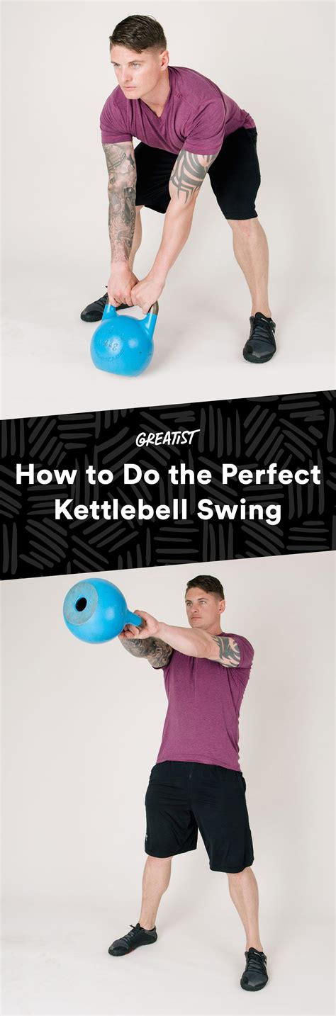 kettlebell swing perfect greatist fitness power workouts beginners weight workout