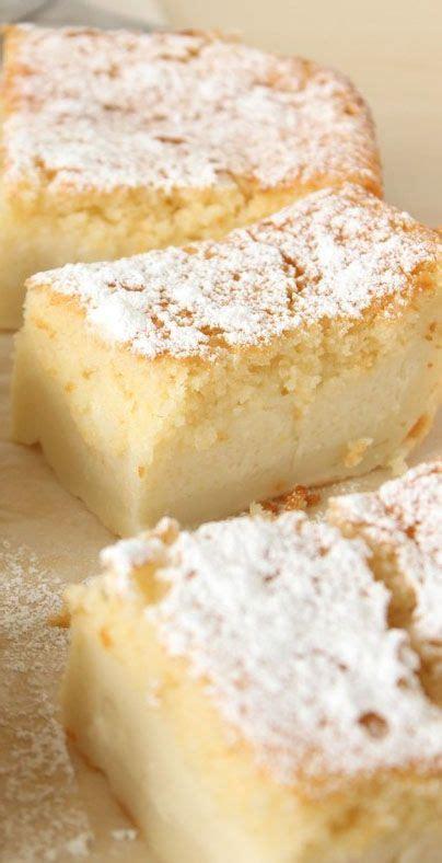 custard cake ideas  pinterest magic custard
