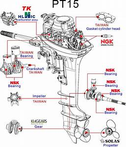 100cc 4 Stroke And 2 Stroke Engine Small Chinese Outboards