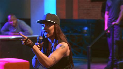 lyrica garrett kyesha crashes shanda 39 s performance love hip hop