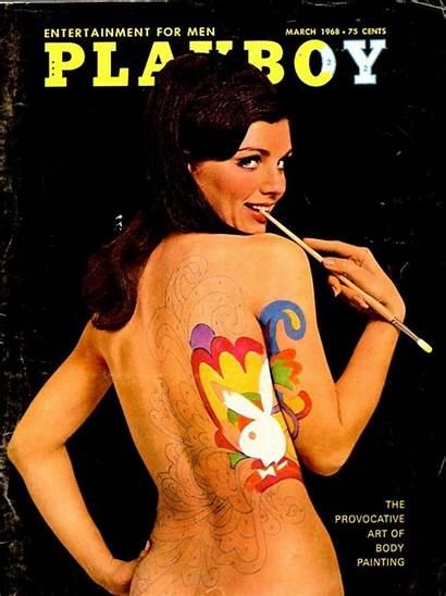 Playboy March 1968 Magazine Painting 1969 Barbarella