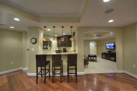 Basement Bar Height by What Is The Ceiling Height In This Basement Both Lower