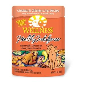 healthy indulgence cat food chicken liver  oz  pack