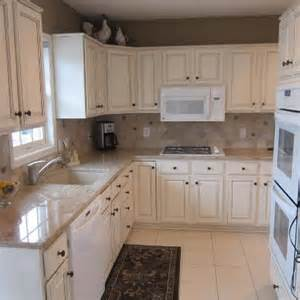diy kitchen cabinet refacing ideas oak cabinets to white enamel with glaze painterati