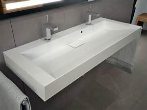 Tisch Für Aufsatzwaschbecken : 120cm waschbecken waschtisch doppelwaschbecken mit ablaufabdeckung ebay ~ Markanthonyermac.com Haus und Dekorationen