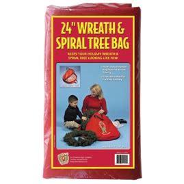 st nick s choice 11520 24 quot wreath storage bag