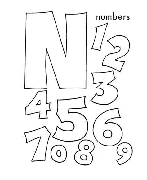 letter n worksheets and coloring pages abc coloring sheet letter n is for numbers coloring
