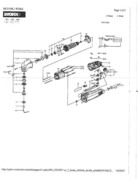 rockwell rkk parts sonicrafter