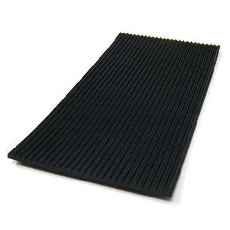 tapis de sol auto en caoutchouc noir stries fines