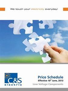 Price Schedule