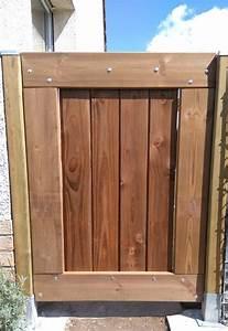 Portillon Bois Jardin : barri re de jardin portillon en bois portillon pinterest ~ Preciouscoupons.com Idées de Décoration