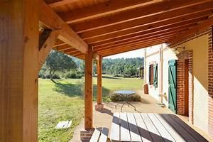 auvent terrasse With construire auvent de terrasse en bois