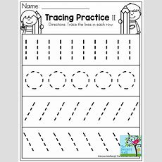 Tracing Practice! Tons Of Printable For Prek, Kindergarten, 1st Grade, 2nd Grade And 3rd Grade